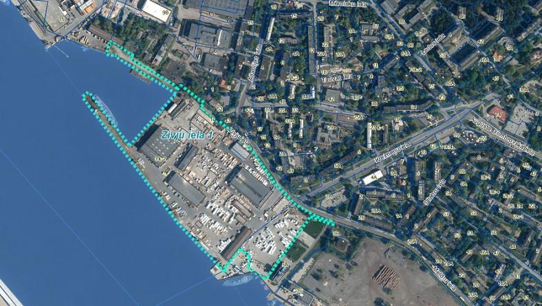 """Paziņojums par sākotnējās ietekmes uz vidi novērtējuma procedūras uzsākšanu uzņēmuma SIA """"Termināls Vecmīlgrāvis"""" paredzētajai darbībai Rīgā, Zivju ielā 1"""