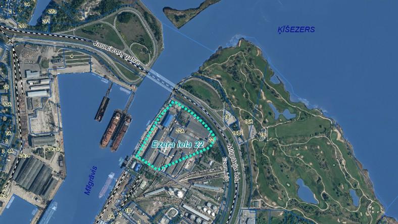 Atzinums par ietekmi uz vides novērtējumu naftas produktu pārkraušanas un uzglabāšanas termināla pārbūvei un estakādes tumšo naftas produktu noliešanai no dzelzceļa vagoncisternām būvniecībai Rīgā, Ezera ielā 22