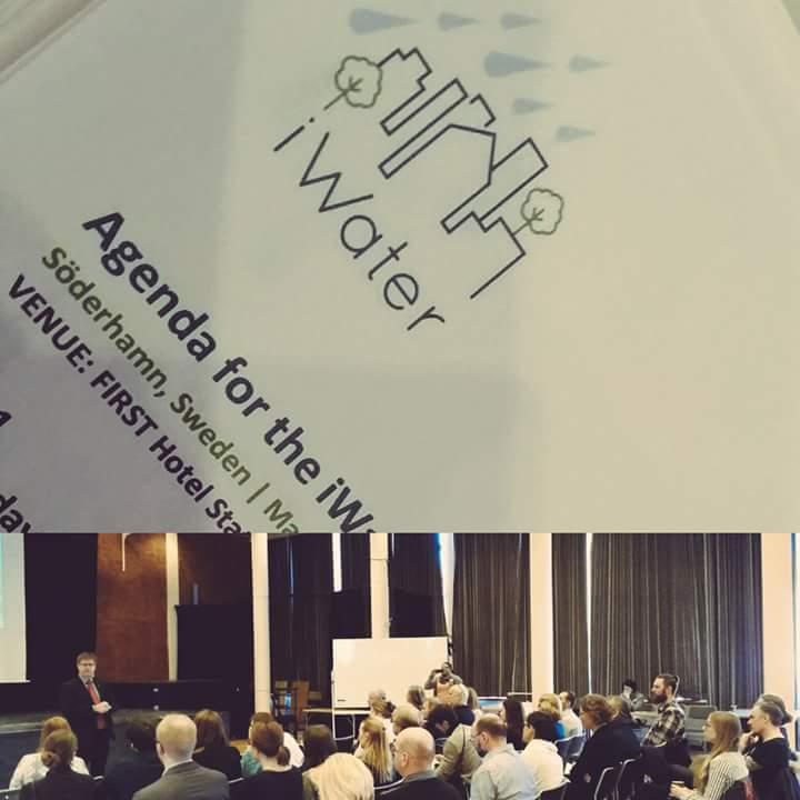 """Projekta """"Integrēta lietusūdens pārvaldība (iWater)"""" ietvaros  noritējusi trešā starptautiskā konference"""
