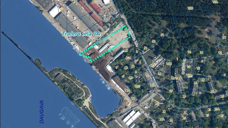 """Paziņojums par ietekmes uz vidi procedūras uzsākšanu SIA """"B Port"""" paredzētajai darbībai Traleru ielā 2A"""
