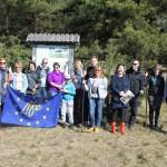 """Talkas laikā dabas parka """"Piejūra"""" teritorijā, Vakarbuļļos, veikti pļavas atjaunošanas darbi"""