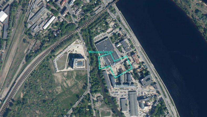 """Par sākotnējā IVN piemērošanu SIA """"Mūkusalas biznesa centrs"""" paredzētajai darbībai Mūkusalas ielā b/n, Rīgā"""