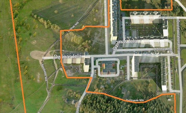 Paziņojums par lokālplānojuma izstrādes uzsākšanu kvartālā starp Augusta Deglava ielu, Ēvalda Valtera ielu, Dzelzavas ielu un Rembates ielu