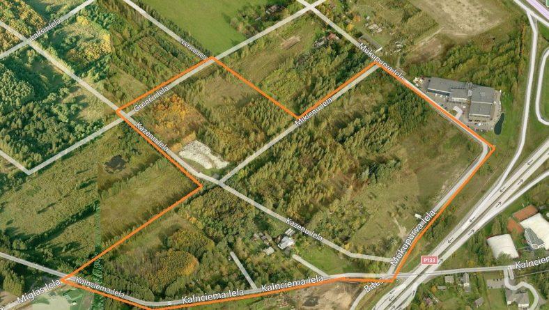 Lokālplānojums teritorijai starp Kalnciema, Grenču, Mūkupurva un Jūrkalnes ielu