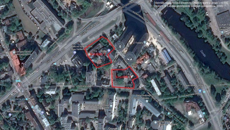 Paziņojums par lokālplānojuma izstrādes uzsākšanu zemesgabaliem Krišjāņa Valdemāra ielā bez numura, Daugavgrīvas ielā 8, Daugavgrīvas ielā 10 un Kalnciema ielā 3