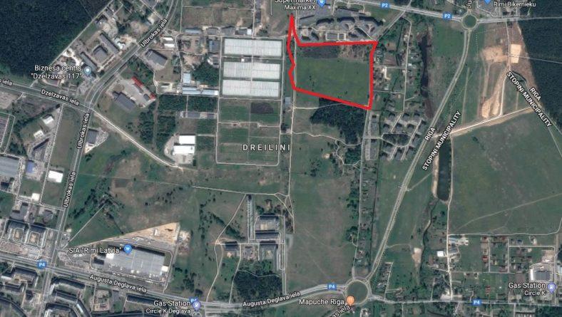 Paziņojums par zemesgabala Ēvalda Valtera ielā 44 lokālplānojuma kā Rīgas teritorijas plānojuma 2006.-2018.gadam grozījumu izstrādes uzsākšanu