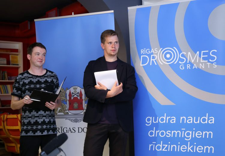 Sarosās tie, kam ir idejas, jo Rīga vienmēr ir atvērta tām!