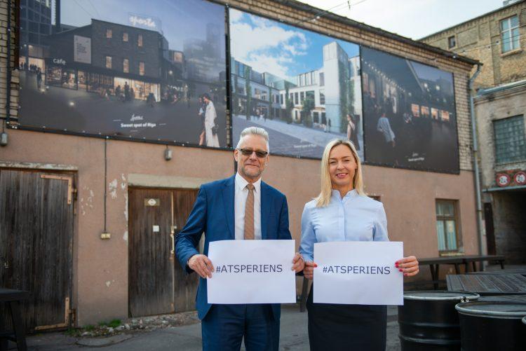 """Rīgas pašvaldība aicina ikvienu interesentu apmeklēt grantu programmas """"Atspēriens"""" informatīvo semināru!"""