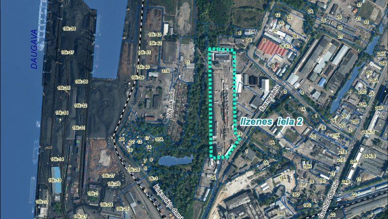 Paziņojums par sākotnējā IVN veikšanu paredzētajai darbībai Ilzenes ielā 2, Rīgā