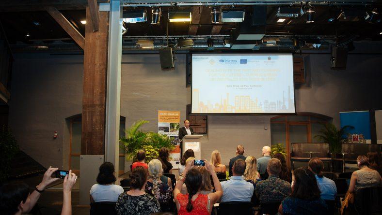 Projekta Baltic Urban Lab noslēguma konference notiek Rīgā