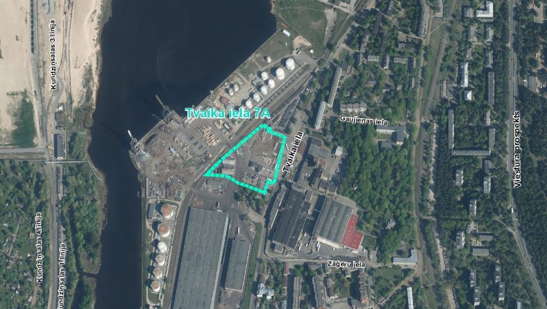 Paziņojums par sākotnējā IVN veikšanu paredzētajai darbībai Tvaika ielā 7A, Rīgā