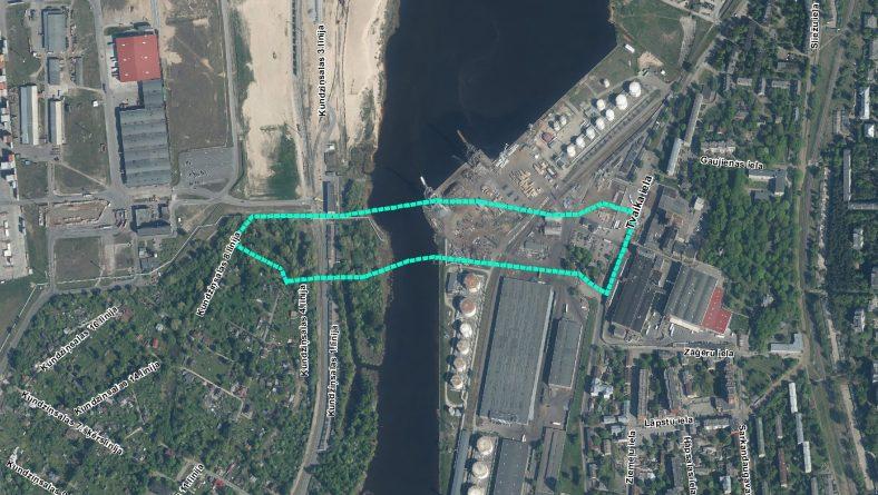 Paziņojums par sākotnējā IVN veikšanu satiksmes pārvada būvniecībai no Tvaika ielas uz Kundziņsalu, Rīgā
