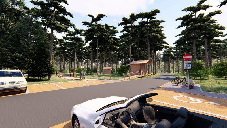 """Par projekta """"Antropogēno slodzi mazinošas infrastruktūras izbūve un rekonstrukcija dabas parkā """"Piejūra"""" (Natura 2000 vieta)"""" īstenošanas aktualitātēm"""