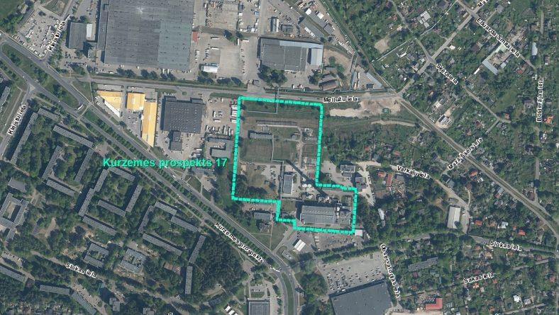 Par IVN sākotnējā izvērtējuma veikšanu plānotajai darbībai Kurzemes prospektā 17, Rīgā