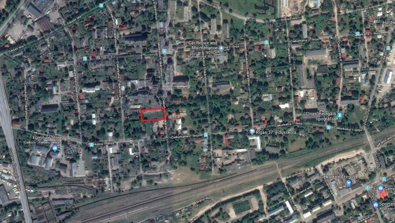 Paziņojums par lokālplānojuma apstiprināšanu zemesgabalam Čiekurkalna 4.šķērslīnijā 4