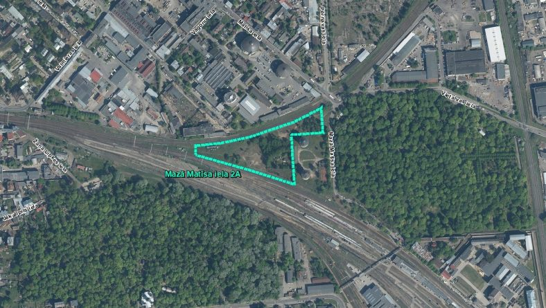 Par IVN procedūras nepiemērošanu ierosinātajai darbībai Mazā Matīsa ielā 2A, Rīgā