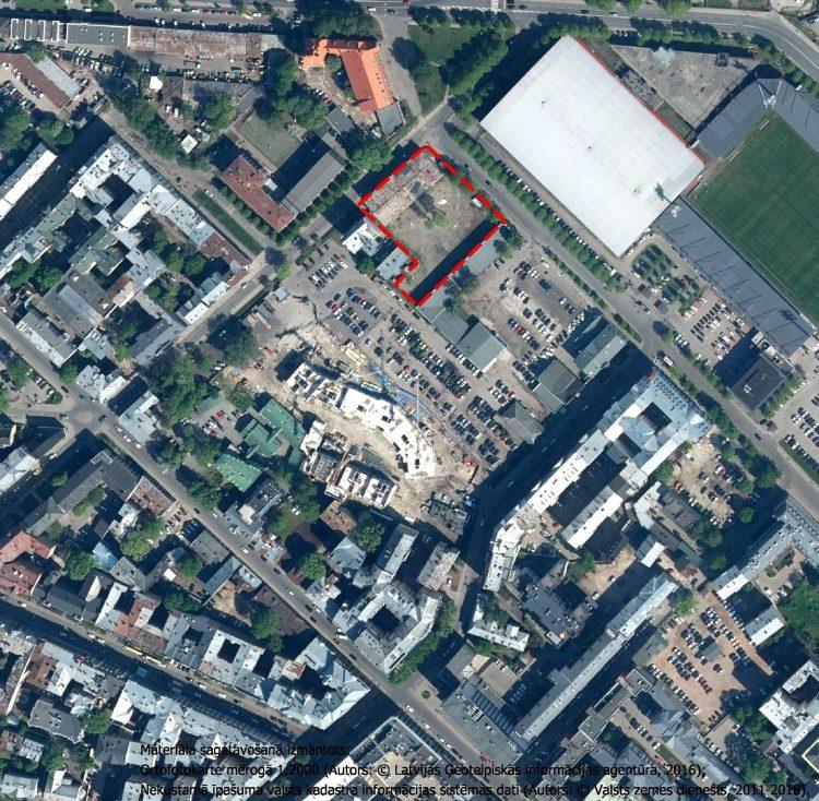 Paziņojums par zemesgabala Strēlnieku ielā 8 (kadastra apzīmējums 01000190020) lokālplānojuma redakcijas nodošanu publiskajai apspriešanai un institūciju  atzinumu saņemšanai