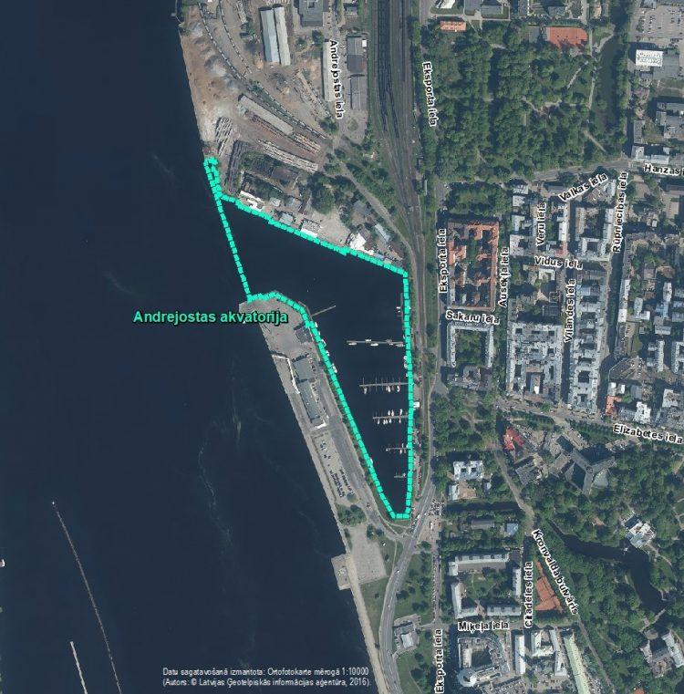 Par IVN sākotnējā izvērtējuma veikšanu plānotajai darbībai Andrejostas akvatorijā, Rīgā