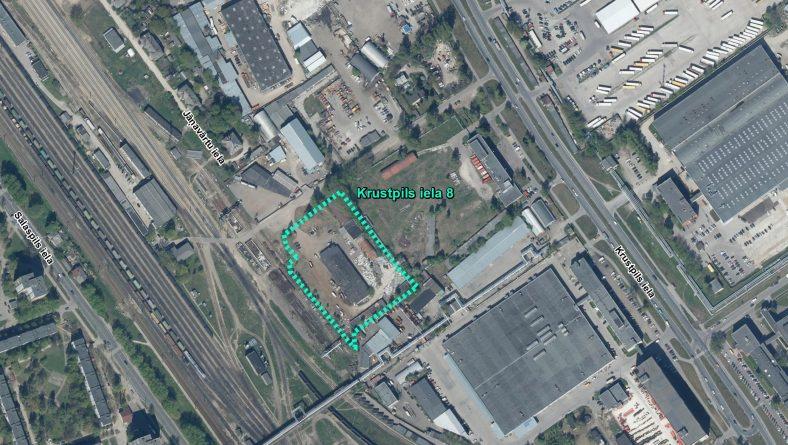 Par IVN nepiemērošanu ierosinātajai darbībai Krustpils ielā 8