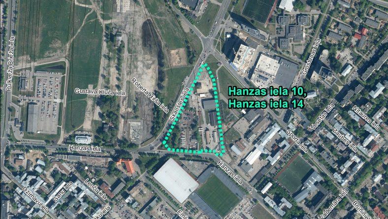 Par sākotnējā IVN veikšanu ierosinātajai darbībai Hanzas ielā 10 un Hanzas ielā 14