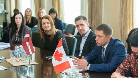 Edmontonas pašvaldības delegācijas vizīte Rīgā