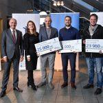 """Rīgas domes grantu programma """"Atspēriens""""  piešķir 75 000 EUR viedpilsētu risinājumiem"""