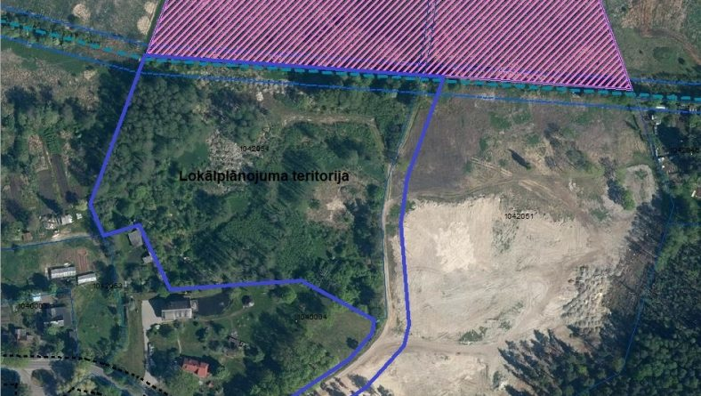 Paziņojums par lokālplānojuma izstrādes uzsākšanu zemesgabalam Rātsupītes ielā