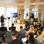 """Rail Baltica kā attīstības, ne tikai """"sliežu"""" projekts"""