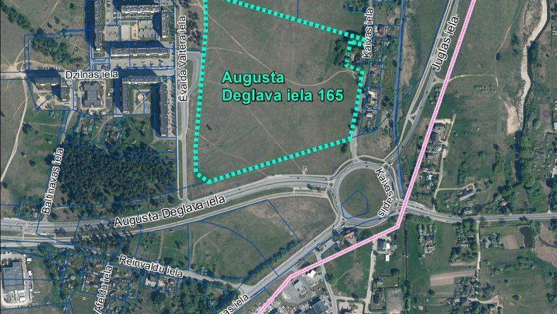 Par sākotnējā IVN veikšanu paredzētajai darbībai Augusta Deglava ielā 165, Rīgā
