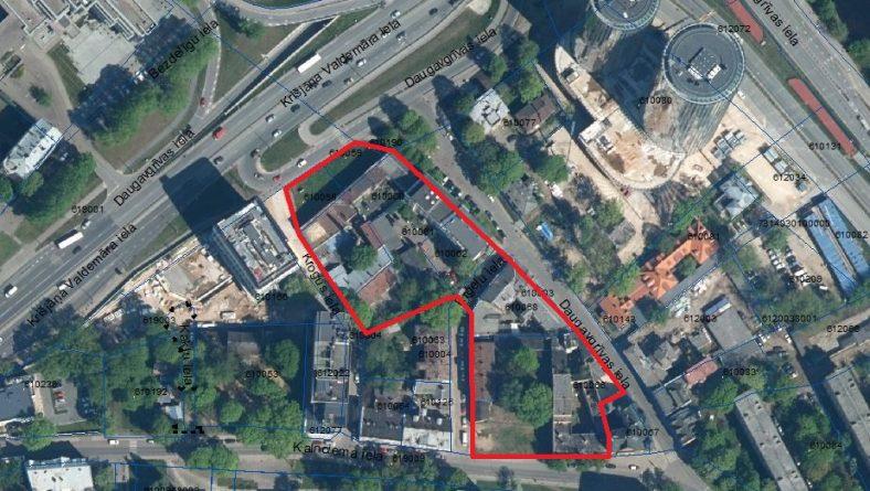 Paziņojums par zemesgabalu Krišjāņa Valdemāra ielā bez numura, Daugavgrīvas ielā 8, Daugavgrīvas ielā 10 un Kalnciema ielā 3 lokālplānojuma redakcijas nodošanu publiskajai apspriešanai un institūciju atzinumu saņemšanai