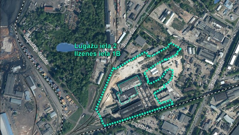Par IVN nepiemērošanu ierosinātajai darbībai Lugažu ielā 2/Ilzenes ielā 1B, Rīgā