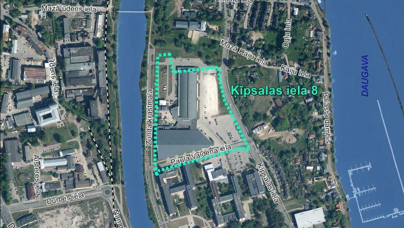 Par sākotnējā IVN veikšanu paredzētajai darbībai Ķīpsalas ielā 8, Rīgā