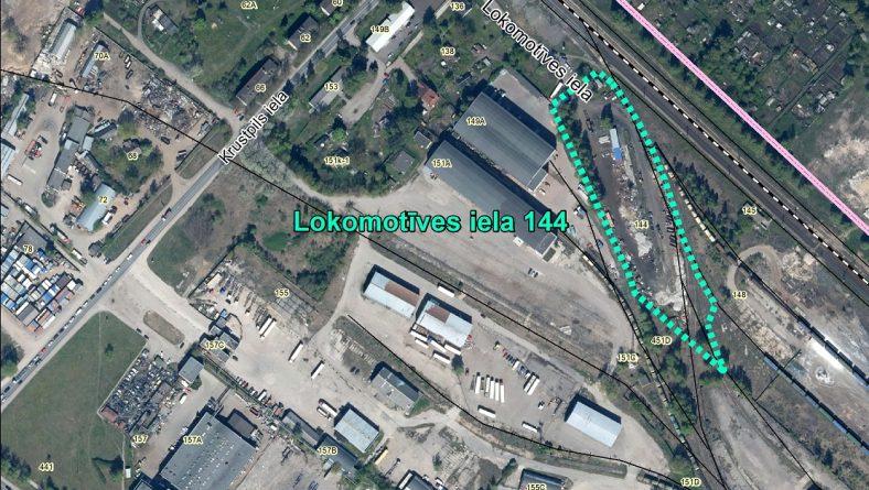 Par sākotnējā IVN veikšanu paredzētajai darbībai Lokomotīves ielā 144, Rīgā
