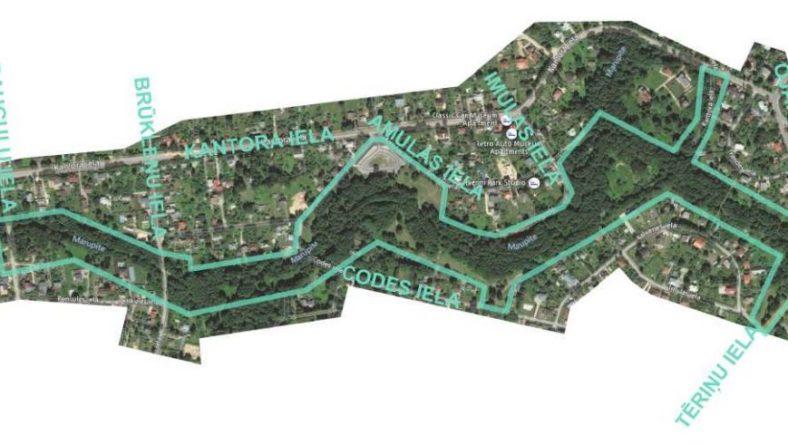 Notiks Mārupītes mežaparka plāna projekta publiskā apspriešana
