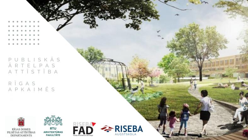 Rīgas pašvaldība, sadarbojoties ar augstskolu studentiem,  uzlabos pilsētas publisko ārtelpu