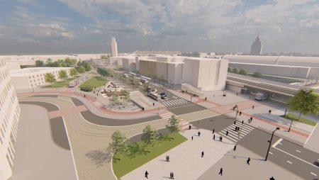 """Šobrīd tiek pārtraukts publiskais diskusiju cikls """"Rail Baltica kā projekts Rīgas attīstībai"""""""