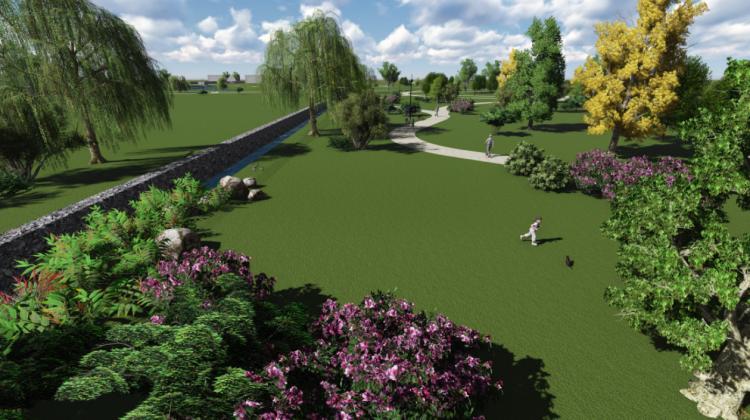 Skanstē izveidos publiski pieejamu parku un infrastruktūru,  kā arī iestādīs vairāk nekā 1000 koku