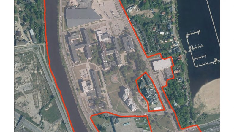 PAPILDINĀTS: Paziņojums par Rīgas Tehniskās universitātes kompleksa Ķīpsalā lokālplānojuma izstrādes uzsākšanu
