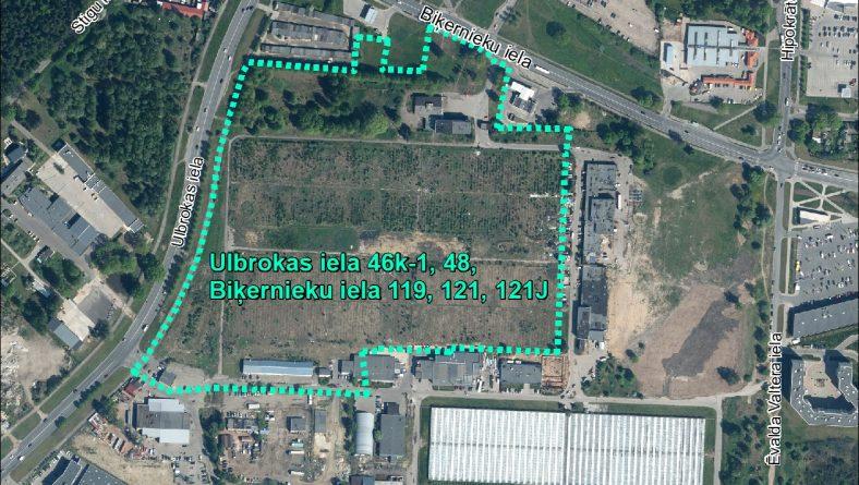 Par sākotnējā IVN veikšanu paredzētajai darbībai Ulbrokas ielā 46k-1, Ulbrokas ielā 48, Biķernieku ielā 119, Biķernieku ielā 121, Biķernieku ielā 121J, Rīgā