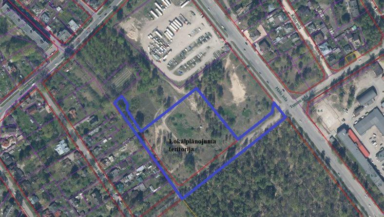 Par zemesgabala Tumes ielā 25 lokālplānojuma kā Rīgas teritorijas plānojuma 2006.–2018. gadam grozījumu izstrādes uzsākšanu