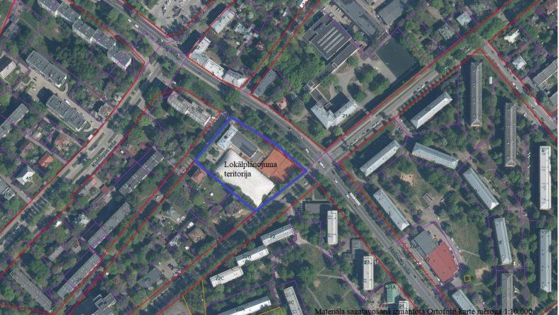 Paziņojums par zemesgabala Baldones ielā 7 lokālplānojuma izstrādes pārtraukšanu