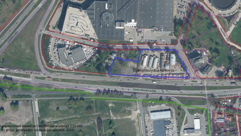 Paziņojums par zemesgabalu Remtes ielā 21, Remtes ielā 19A un  Kārļa Ulmaņa gatvē b/n lokālplānojuma izstrādes uzsākšanu