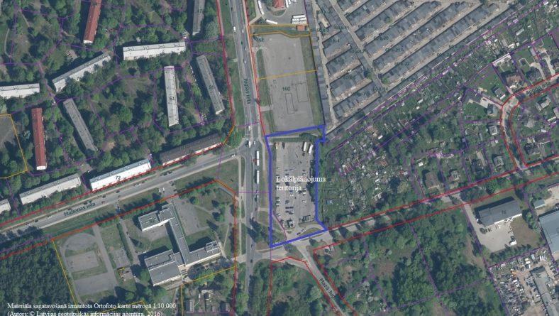 Paziņojums  par teritorijas Ūdeļu ielā 1 lokālplānojuma izstrādes uzsākšanu