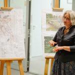 Iedzīvotājus informē par Aldara parka pārbūves darbiem