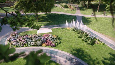 Sākas Aldara parka pārbūves 1. un 2. kārtas darbi