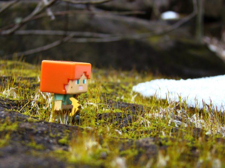 Rīgā īstenota spēļošanas aktivitāte Minecraft vidē