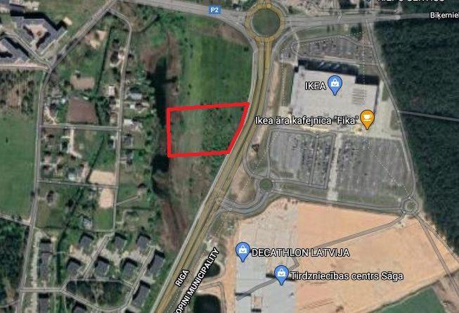 Paziņojums par teritorijas Juglas ielā 95 lokālplānojuma kā Rīgas teritorijas plānojuma 2006.-2018.gadam grozījumu izstrādes uzsākšanu