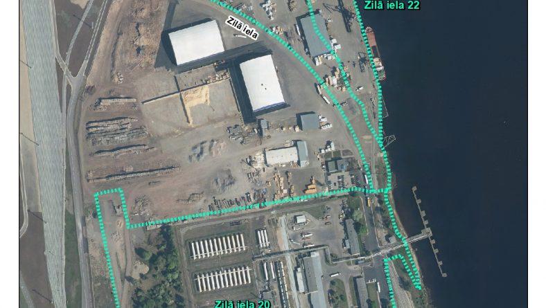 Par ietekmes uz vidi sākotnējā izvērtējuma veikšanu Zilā ielā 20, 21B, 21A, 22