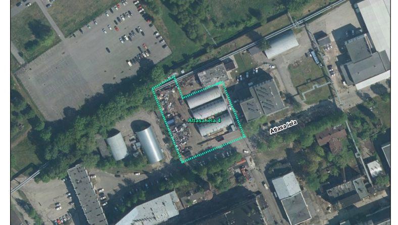 Par ietekmes uz vidi sākotnējā izvērtējuma veikšanu Atlasa ielā 4