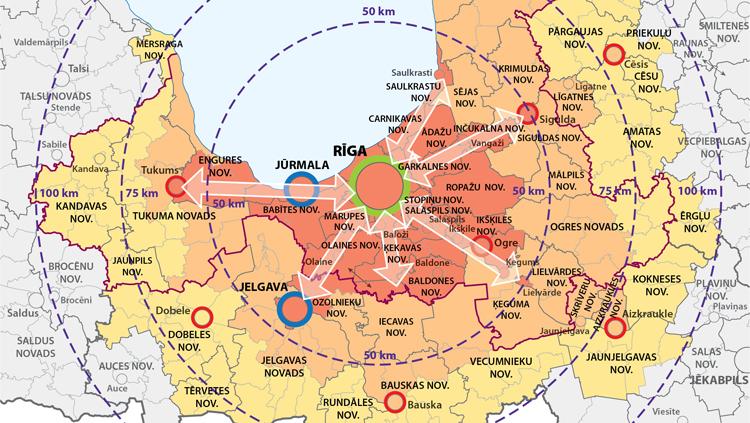 Aktualizē Rīgas metropoles areāla sadarbības jautājumu efektīvākai pilsētvides resursu izmantošanai